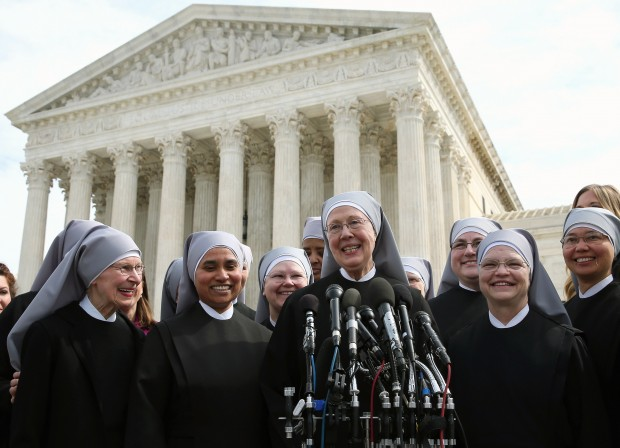 We stand with the Little Sisters of the Poor.