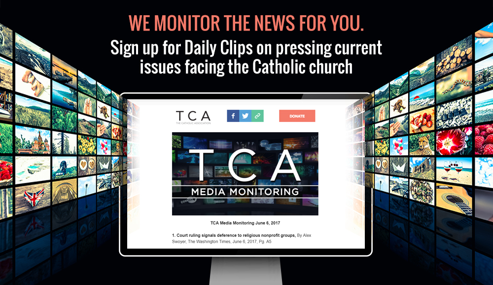 Sign up for TCA's Media Monitoring Email Today