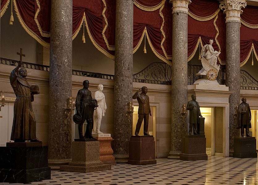 CNA: Statue of Pope Francis' New Saint Could be Kicked Out of U.S. Capitol