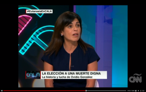 Grazie Christie discusses assisted suicide on CNN Espanol
