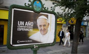 Elected 365 days ago, Pope Francis rides popularity wave