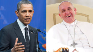 The Pope, The President: Obama, Fading Rock Star, Meets With Icon On The Rise