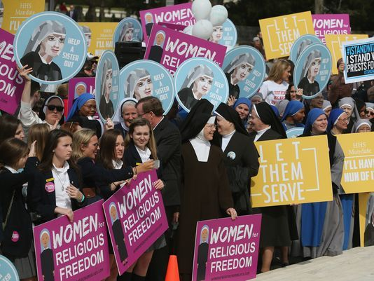 Worried about sexual harassment? Don't force nuns to buy other people's birth control.