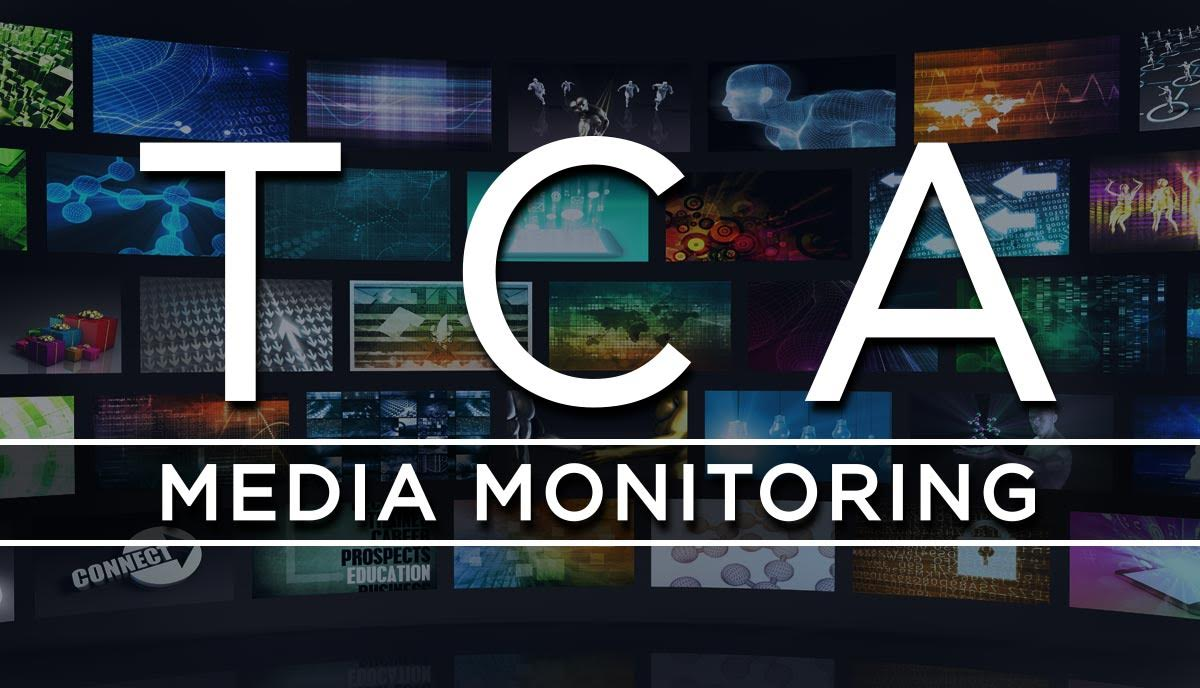 TCA Media Monitoring August 21, 2020