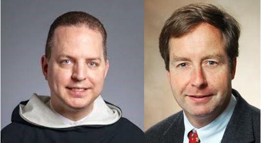 Dr. Timothy Flanigan and Father Thomas Petri