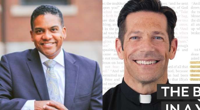 Ep. 111 Damon Owens Talks Theology of the Body & Father Mike Schmitz on Bible in a Year Podcast!